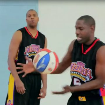 Harlem Wizards Broadway and Swoop sharing their love for the Game